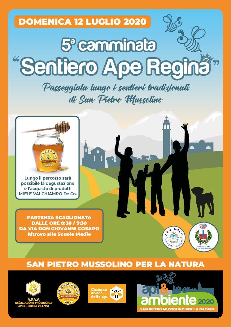 Camminata Sentiero Ape Regina- Comune San Pietro Mussolino (VI)