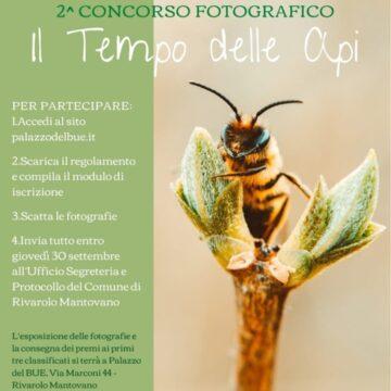 """Seconda edizione del Concorso fotografico """"il tempo delle Api""""- Rivarolo Mantovano (MN)"""