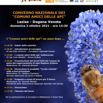 I giorni del miele – convegno nazionale dei Comuni amici delle api